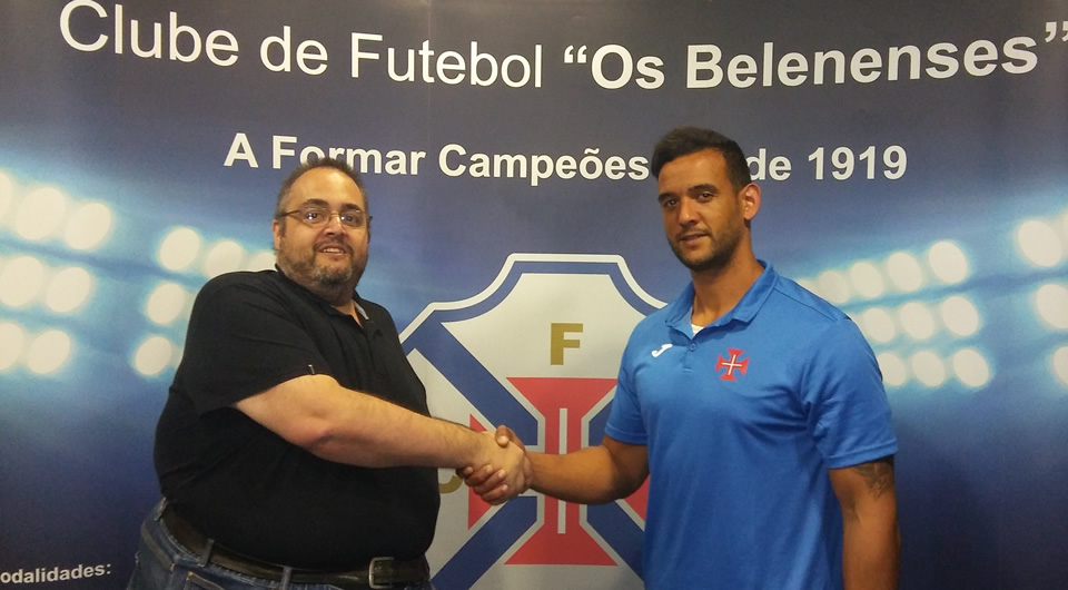 Pivot Bruno Moreira (ex-Madeira SAD) é reforço do Andebol do Belenenses