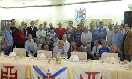 Mesa de Honra no Almoço dos Campeões no Funchal