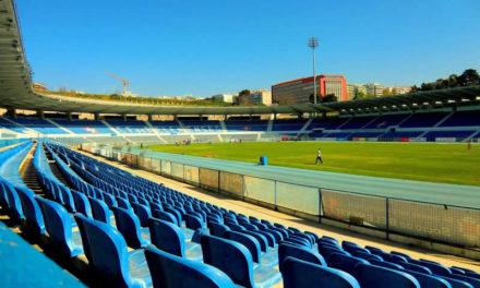 Liga dos Campeões no estádio do Restelo