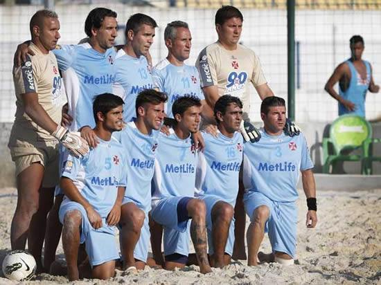 Sorteio do nacional de futebol de praia
