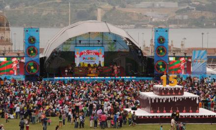 Leve a sua família ao Festival do Panda