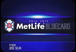 Compre já o MetLife BlueCard para 2013/2014