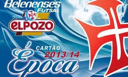 Cartões de Época 2013/2014: SEJA UM DE NÓS!