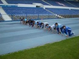 Vem treinar na nossa escola de atletismo