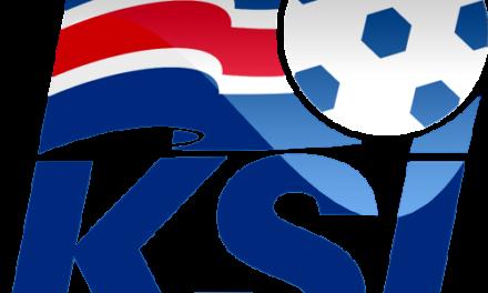 Internacionais islandeses em ação