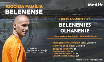 Sábado é jogo da família belenense