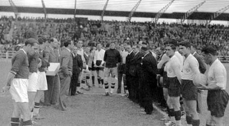24 de Abril de 1937 – Inauguração do arrelvamento do Estádio das Salésias