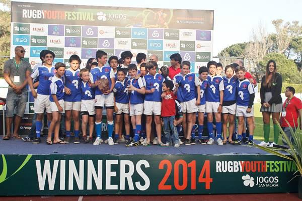 Sub13 venceu torneio youth Rugby festival