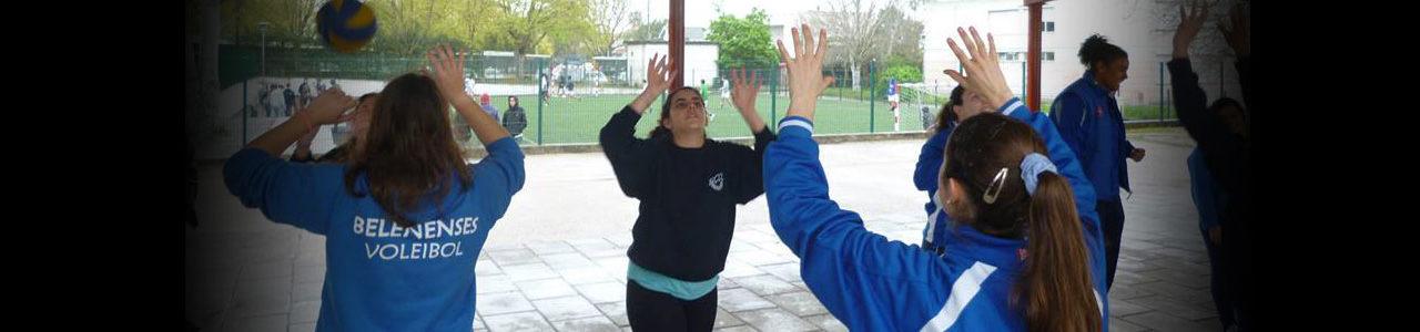 Voleibol foi à Escola