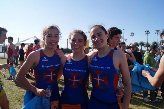 Três atletas na Taça da Europa Junior de Triatlo
