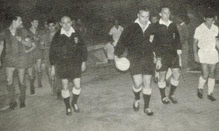 7 de Maio de  1958 – Primeiro jogo e primeira vitória com Barcelona