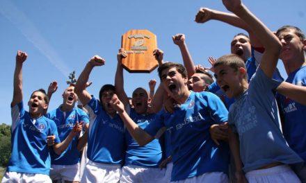 Sub16 sagram-se Campeões Nacionais