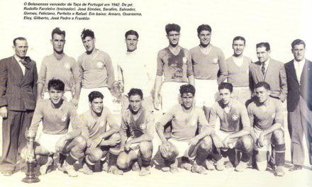 12 de Julho de 1942 – Belenenses vence a Taça de Portugal