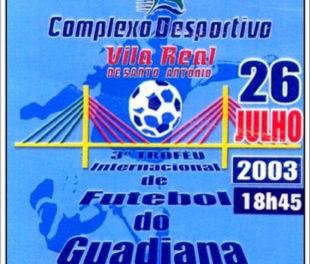 26 de Julho de 2003  – Belenenses vence o Torneio do Guadiana