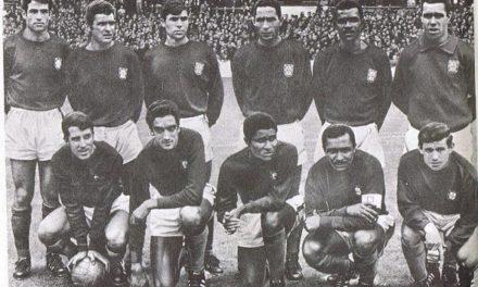28 Julho 1966 – José Pereira e Vicente na Selecção Nacional no Campeonato do Mundo
