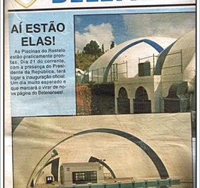 21 de Julho de 1993  – Inauguração das Piscinas Olímpicas