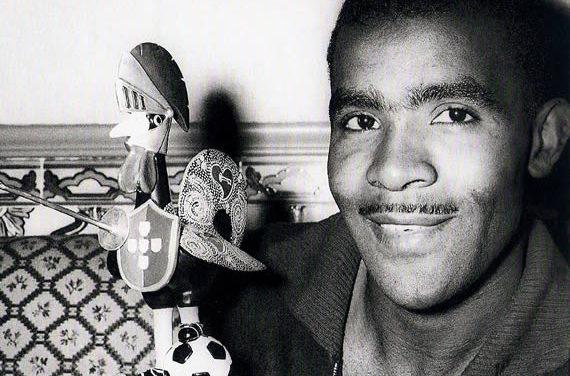 13/07/1966 – Vicente no 1º jogo da Selecção numa fase final de um Mundial