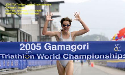 11 de Setembro de 2005 – Anaís Moniz sagra-se Campeã do Mundo de Juniores, em Triatlo