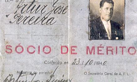 6 de Setembro de 1943 –  Morre Artur José Pereira, principal Fundador do Belenenses