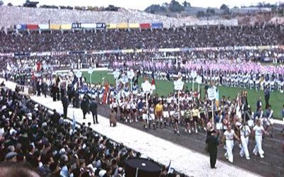 23 de Setembro de 1956 – Inauguração do Estádio do Restelo (capacidade inicial: 44.000 espectadores)