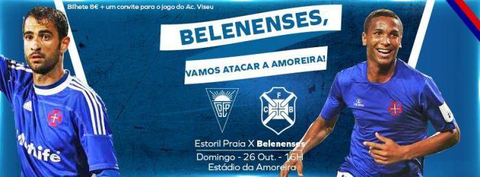 Já tem o seu bilhete para o Estoril-Belenenses?