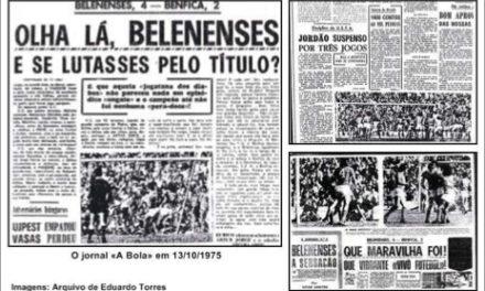 12 de Outubro de 1975 – Sessenta mil no Restelo e Belenenses no 1º lugar