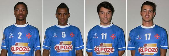 Futsal: Quatro Belenenses/ElPozo na Selecção Sub-21