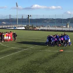 Infantis: 4-0 ao Benfica