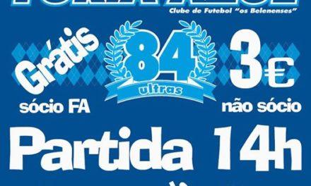 Venha apoiar-nos a Braga por apenas 3€