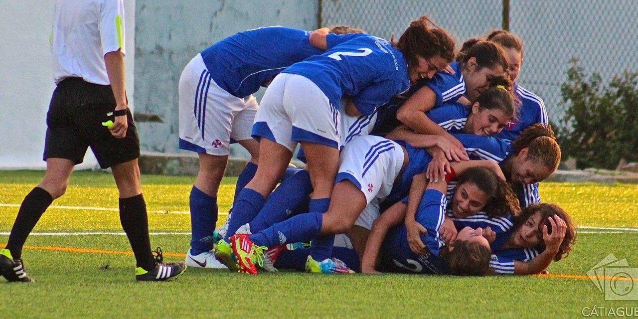 Futebol Feminino: Belenenses, 3 – Bonitos Amorim, 2