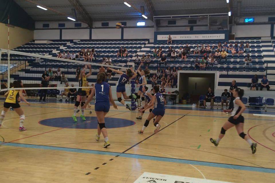 Voleibol: Belenenses, 3 – AVC, 2