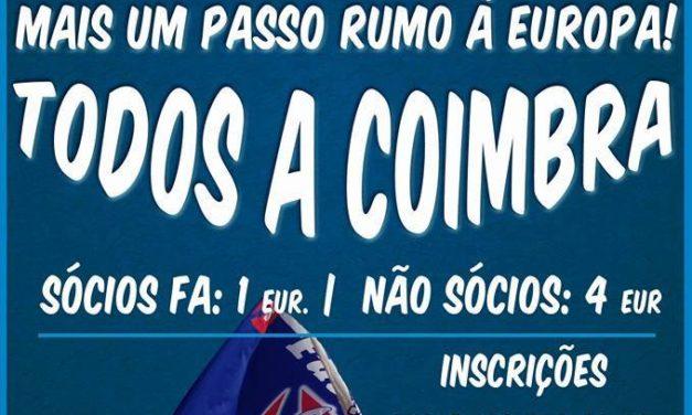Excursão, do Restelo para Coimbra, a partir de 1€