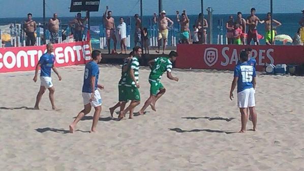 Futebol de Praia: Sporting, 5 – Belenenses, 2