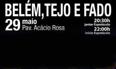 Pedro Moutinho no Belém, Tejo e Fado