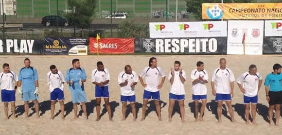 Futebol de Praia: Belenenses, 3 – Vit. Setúbal, 5