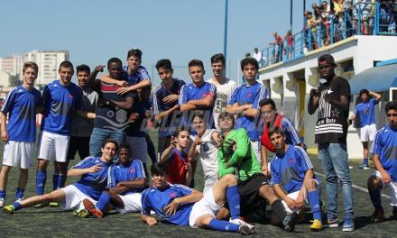 Futebol Formação (Juvenis B): Belenenses, 3 – Sacavenense, 3