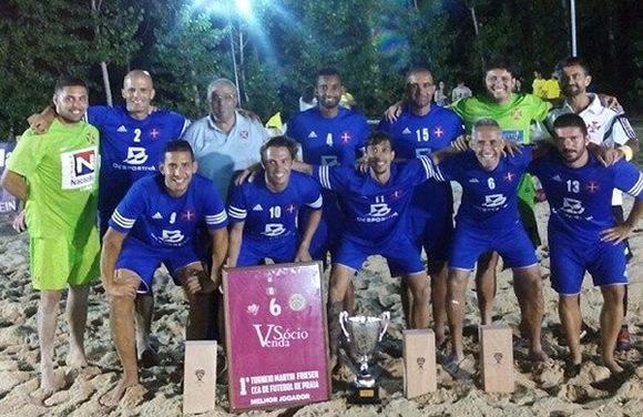 Futebol de Praia vence Torneio Martin Friesen