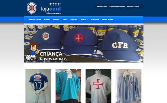 Chegou a Loja Azul online