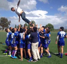 Sevens sub-16 e sub-18 venceram Madrid Sevens