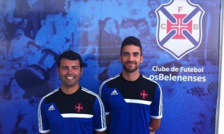 Miguel Lopo e Jorge Aurélio no comando técnico dos Sub-12