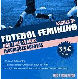 """Futebol Feminino: Novas escolas associam-se ao """"Craques de (es)tudo"""""""