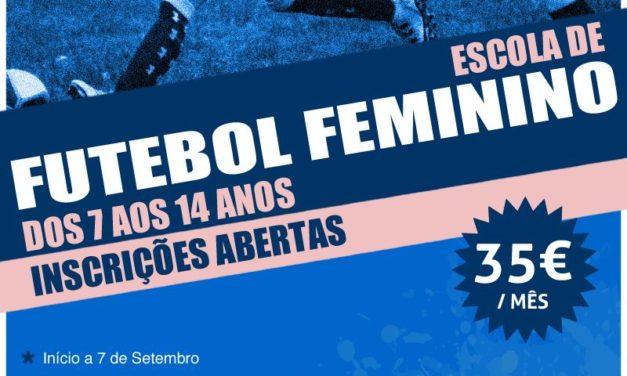 Futebol Feminino: Inscrições abertas para a Escola de Futebol Feminino do Belenenses
