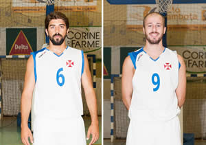 Basket: Gonçalo Carvalho e Hélder Oliveira renovam