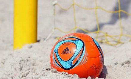 Mais uma vitória no Distrital de Futebol de Praia