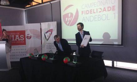 Sorteio do Campeonato Nacional de Andebol