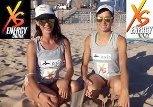 Daniela e Brígida campeãs regionais de beachvolley