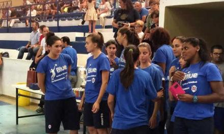 Apresentação dos escalões de formação de Voleibol
