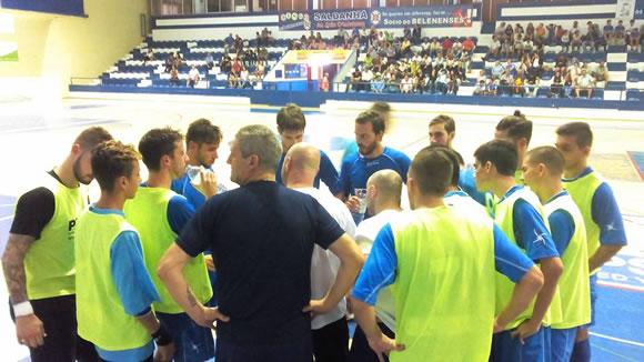 Futsal: antevisão de Dario na recepção ao SL Olivais (áudio)
