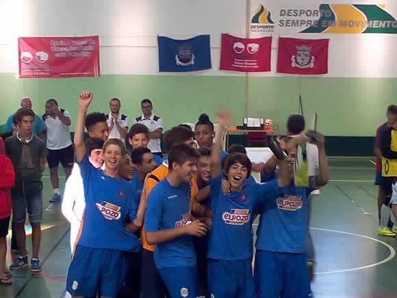 Formação de Futsal soma mais uma vitória