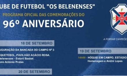 Programa Oficial do 96º Aniversário